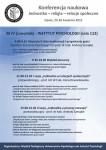 Program 2 dnia konferencji