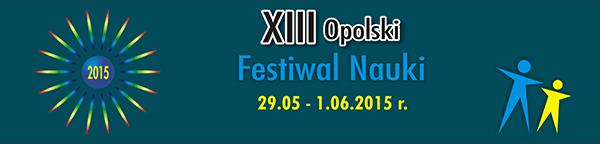 Opolski Festiwal Nauki 2015 - baner