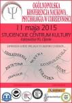 Psychologia w codzienności - plakat konferencyjny