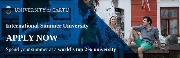 Letnia szkoła Uniwersytet Tartu, Estonia