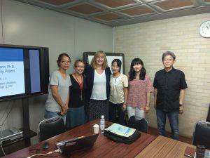 dr hab. Anna Bokszczanin na Erasusie w Japonii