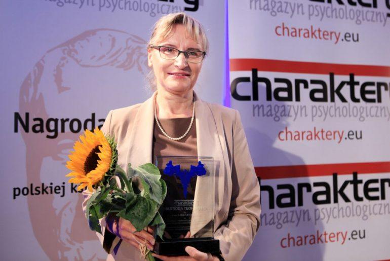 Barbara Mróz Nagroda Teofrasta